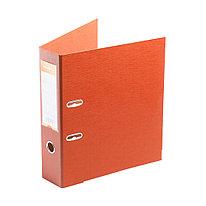"""Папка–регистратор Deluxe с арочным механизмом  Office 3-OE6 (3"""" ORANGE)  А4  70 мм  оранжевый"""