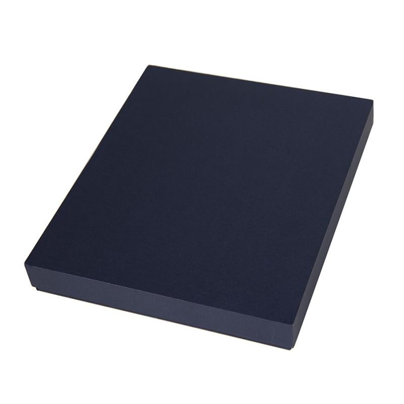 Коробка под ежедневник 145*205 мм и ручку, Темно-синий, -, 24739 26
