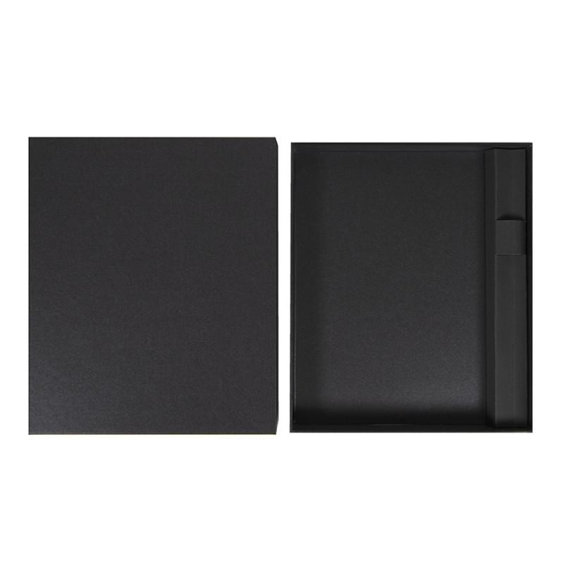 Коробка под ежедневник 145*205 мм и ручку, Черный, -, 24739 35
