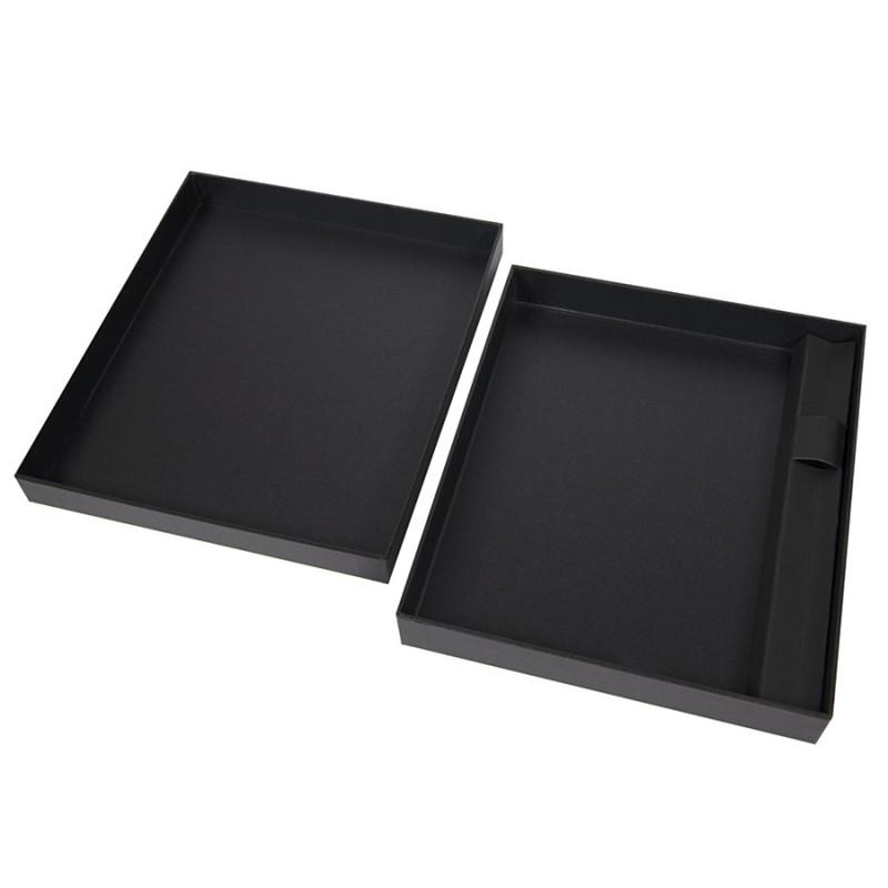 Коробка под ежедневник 130*210 мм и ручку, Черный, -, 24740 35