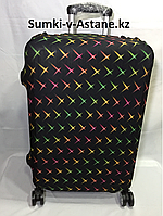 Чехол на средний пластиковый дорожный чемодан.Высота 63 см, длина 42 см, ширина 22 см., фото 1