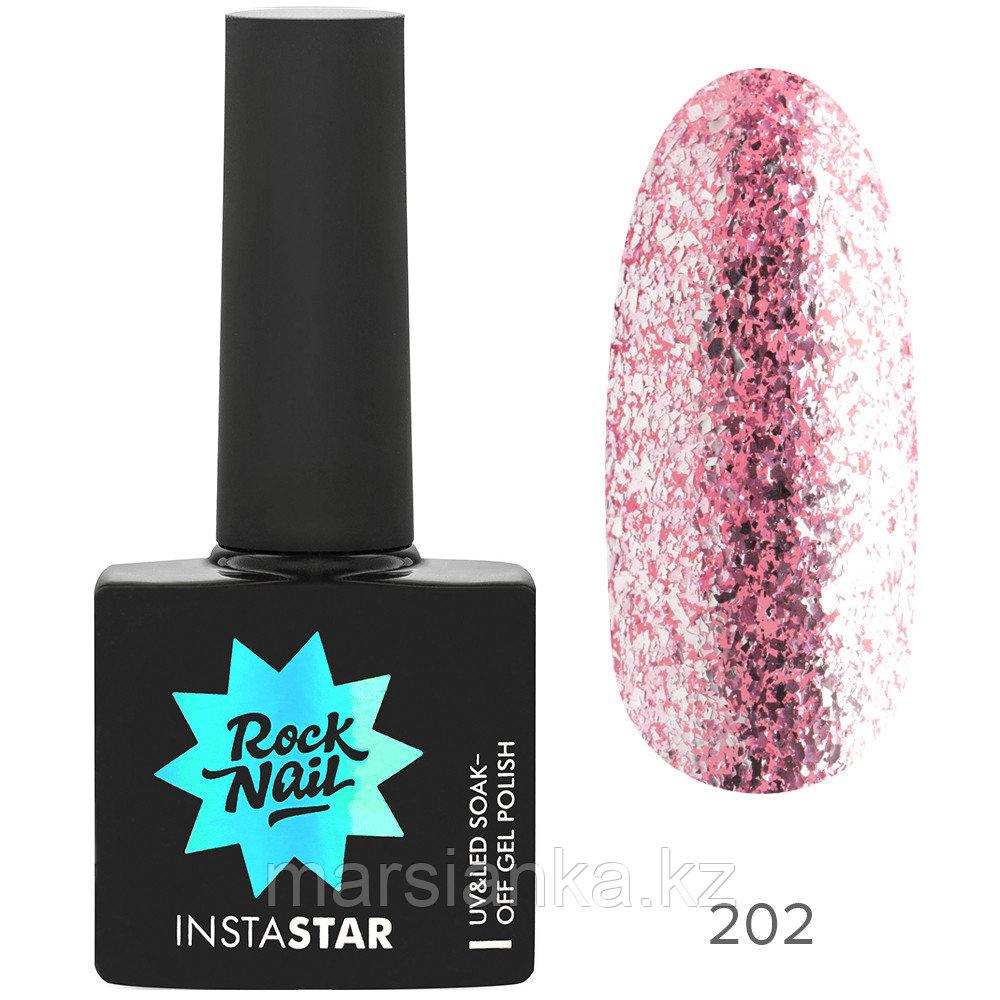 Гель-лак RockNail Insta Star #202 Britney, 10мл