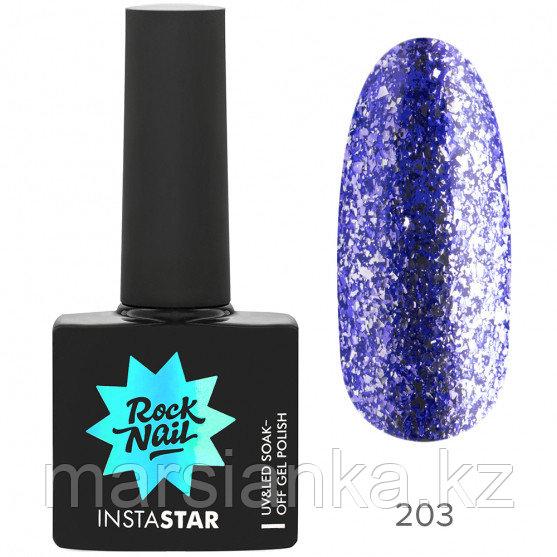 Гель-лак RockNail Insta Star #203 Nicki, 10мл