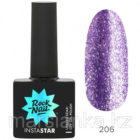 Гель-лак RockNail Insta Star #206 Katy, 10мл, фото 2