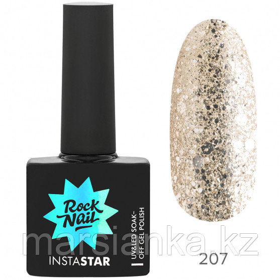 Гель-лак RockNail Insta Star #207 Beyonce, 10мл