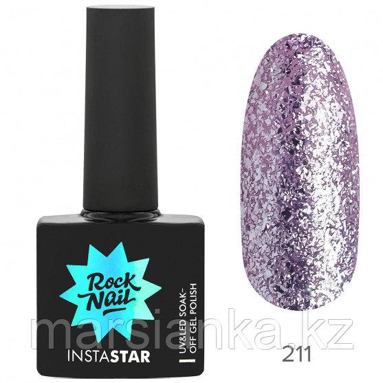 Гель-лак RockNail Insta Star #211 Ariana, 10мл