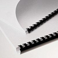 Пластиковые пружины для переплета  (6 мм/25) белые (100 шт в пач)