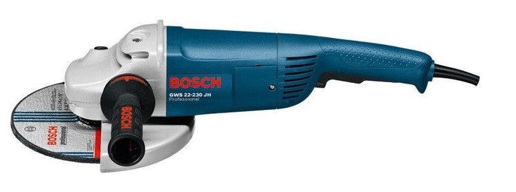 Угловая шлифмашина, УШМ BOSCH GWS 22-230 H Professional 0601882103, фото 2