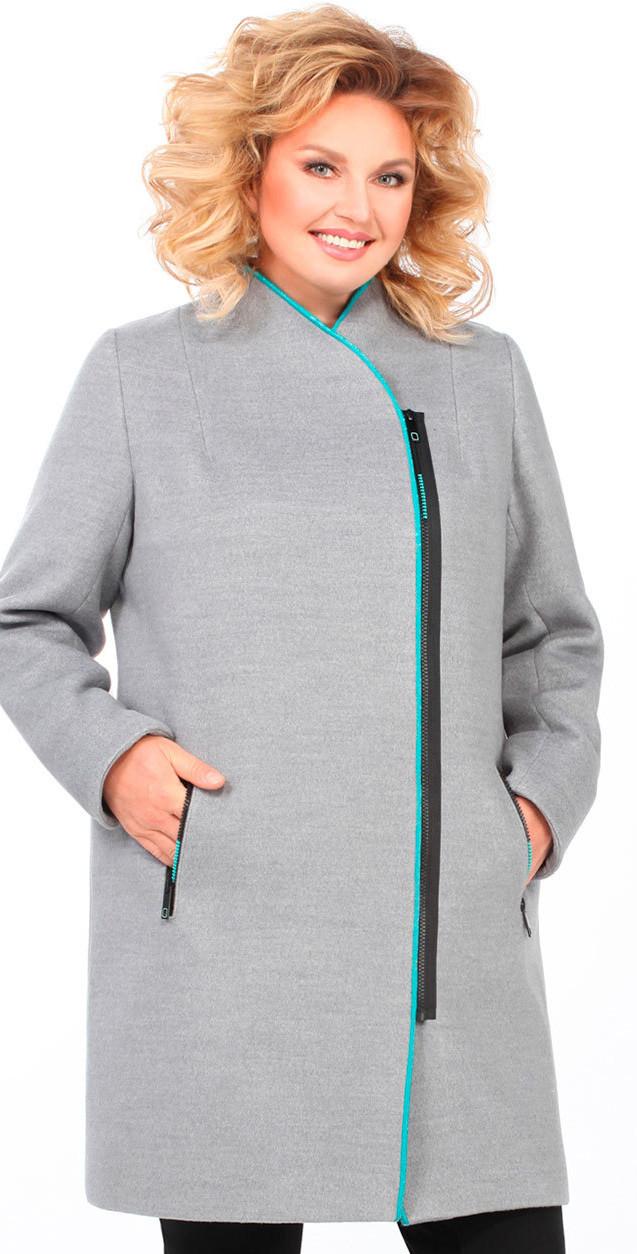 Пальто Matini-21350, серый, 52