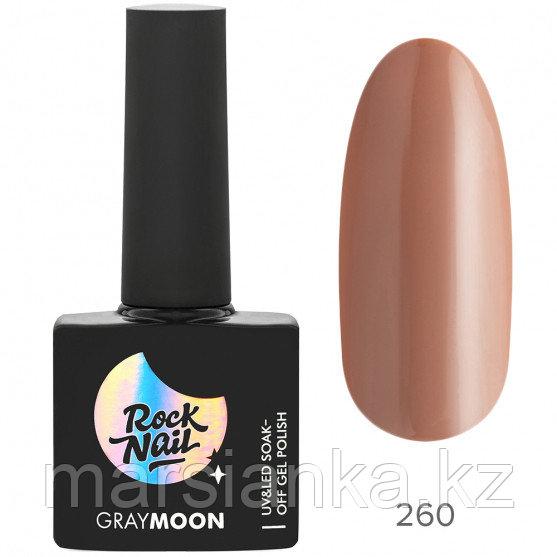 Гель-лак RockNail Gray Moon #260 Mystery, 10мл