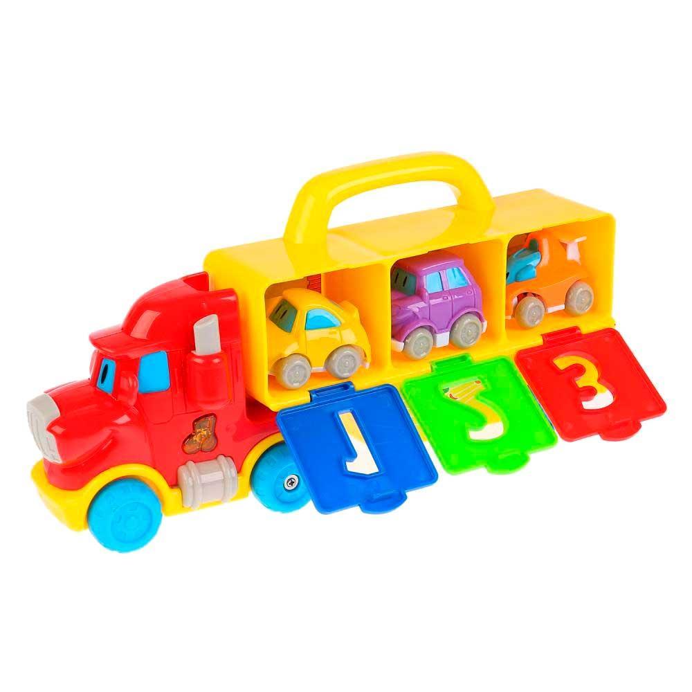 Умка Музыкальный автовоз с игрушками, 35 звуков