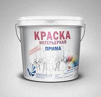 Краска вд-ак-201 интерьерная прима белая (6 кг)