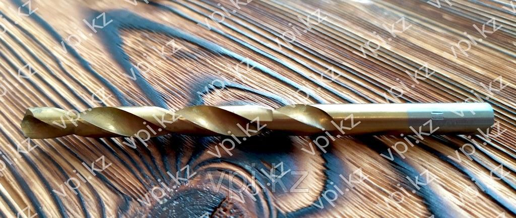 Сверло по металлу, нитридтитановое покрытие, HSS, 8мм, Matrix