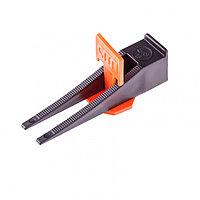 Система выравнивания плитки СВП - комплект: зажим + клин 250/250 шт. Сибртех 88075, фото 1