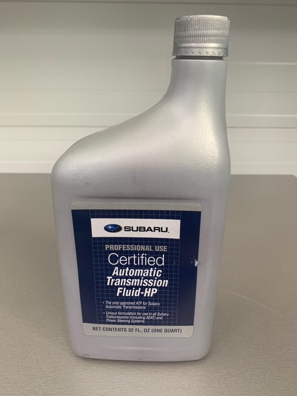 Трансмиссионное масло Subaru ATF-HP для АКПП и ГУР  946 мл (1 кварта)