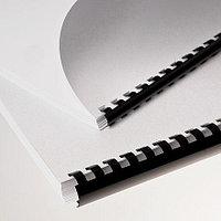Пластиковые пружины для переплета (19 мм/165) черные (100 шт в пач)