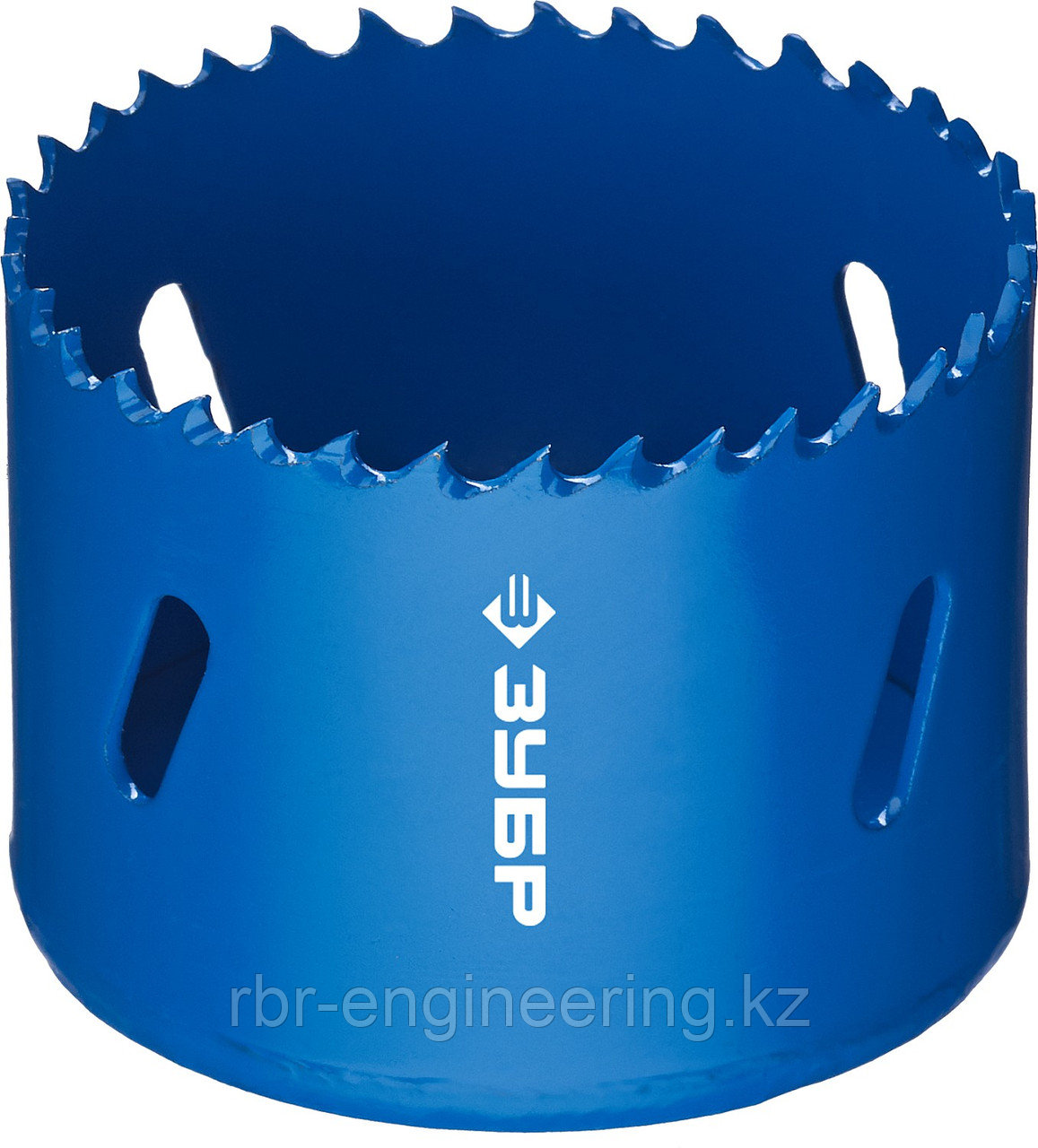 Коронка биметаллическая, быстрорежущая сталь, глубина сверления до 38мм, d-60мм, ЗУБР