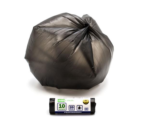 Пакет мусорный 10-20 л