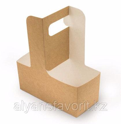 Eco Cupholder- держатель для 2-х стаканов, размер: 180*80*70 мм. РФ, фото 2