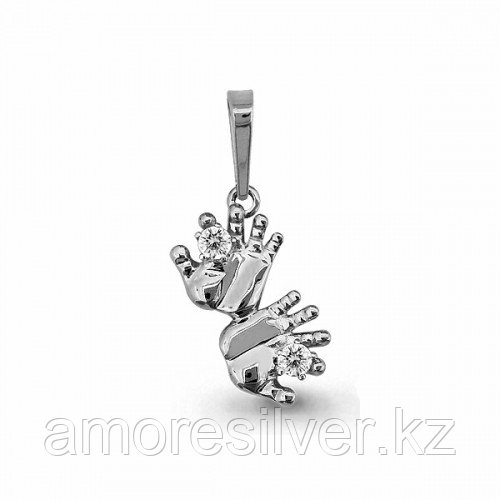 Серебряная подвеска с фианитом  Aquamarine 22983А