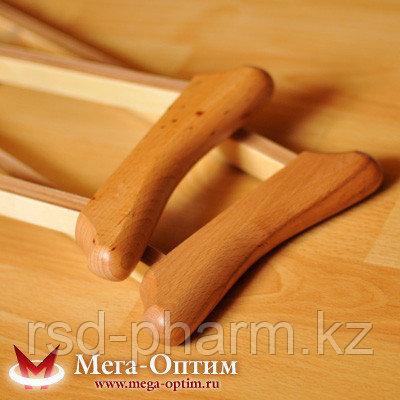 Костыли подмышечные с деревянными ручками 01-К, фото 2