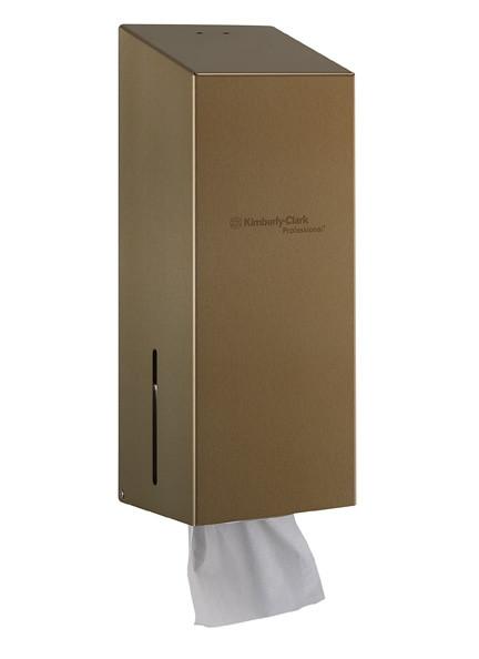 Диспенсер из нержавеющей стали для туалетной бумаги в пачках Kimberly Clark Professional 8942