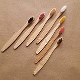 Детская зубная щетка бамбуковая., фото 2