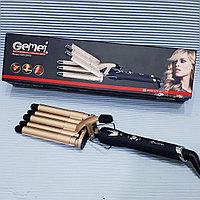 Пятерная плойка для объемных кудрей GEMEI GM-2933., фото 1