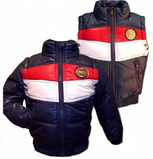Куртки, жилетки