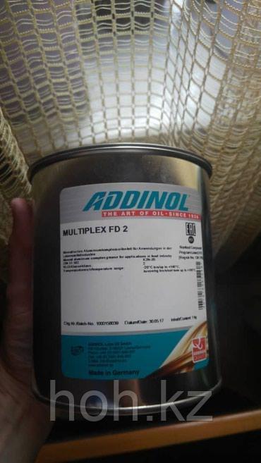 Смазка с пищевым допуском NSF H1 ADDINOL MULTIPLEX FD 2