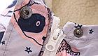 """Куртка детская демисезонная, """"Еноты"""", цвет сиреневый, на 9-10 лет, фото 2"""