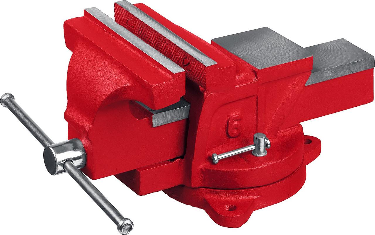 Тиски слесарные, поворотные, MIRAX 32471-15, 150 мм