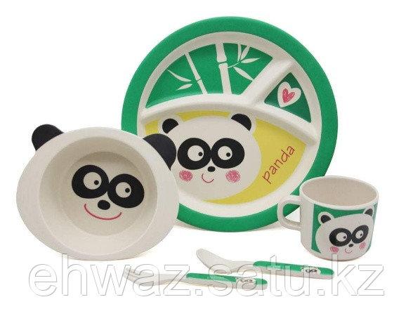 Набор детской бамбуковой посуды Панда