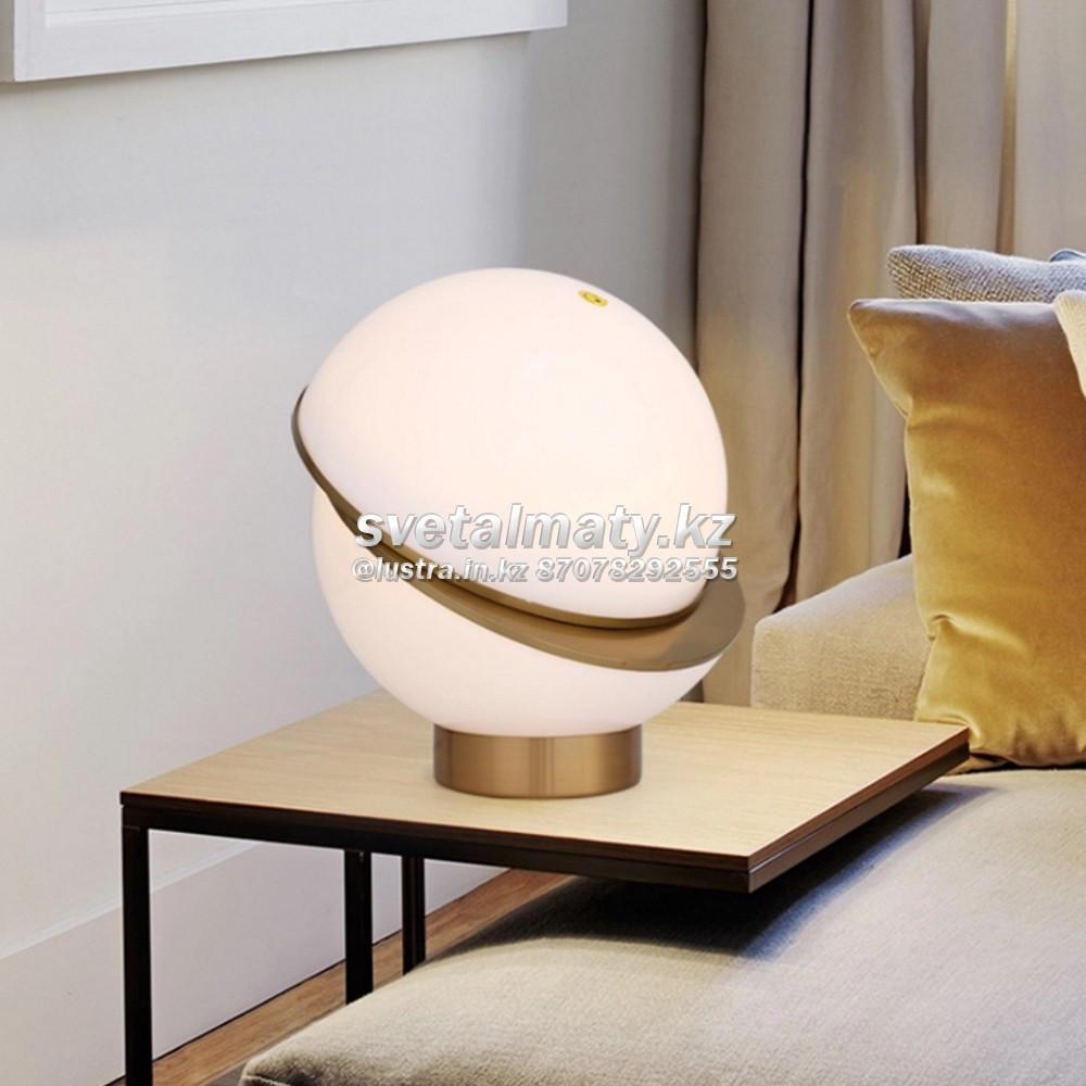 Настольный одноламповый светильник в стиле Modern (Hitech)