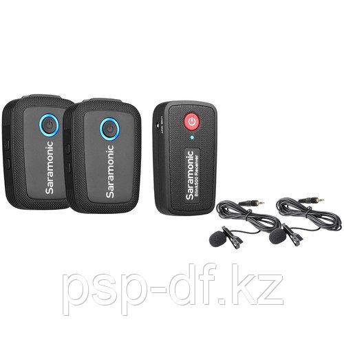 Радио петличный Saramonic Blink 500 B2 2-Person Digital Camera-Mount Wireless Omni Lavalier System