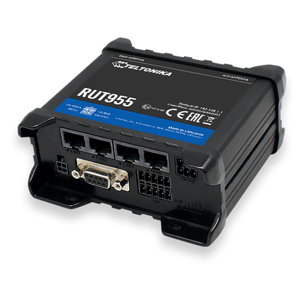 4G LTE-роутер Teltonika RUT955 GNSS+DIN-Rail, фото 2