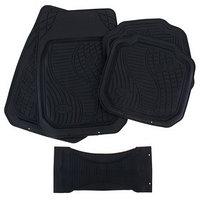 Коврики автомобильные TORSO, резина, 70х50 см, 50х49 см, черный, набор 5 шт