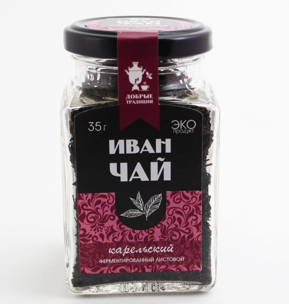 Иван-чай лист.без цв.,банка, 35 г