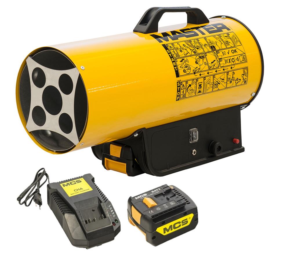 Газовый нагреватель MASTER BLP 17 M DC