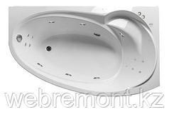 Акриловая гидромассажная ванна Джуллиана 160х95х65 см.(Общий массаж, спина, ноги)