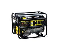 Бензиновый генератор 7,5 кВт 220В HUTER DY9500L ручной стартер