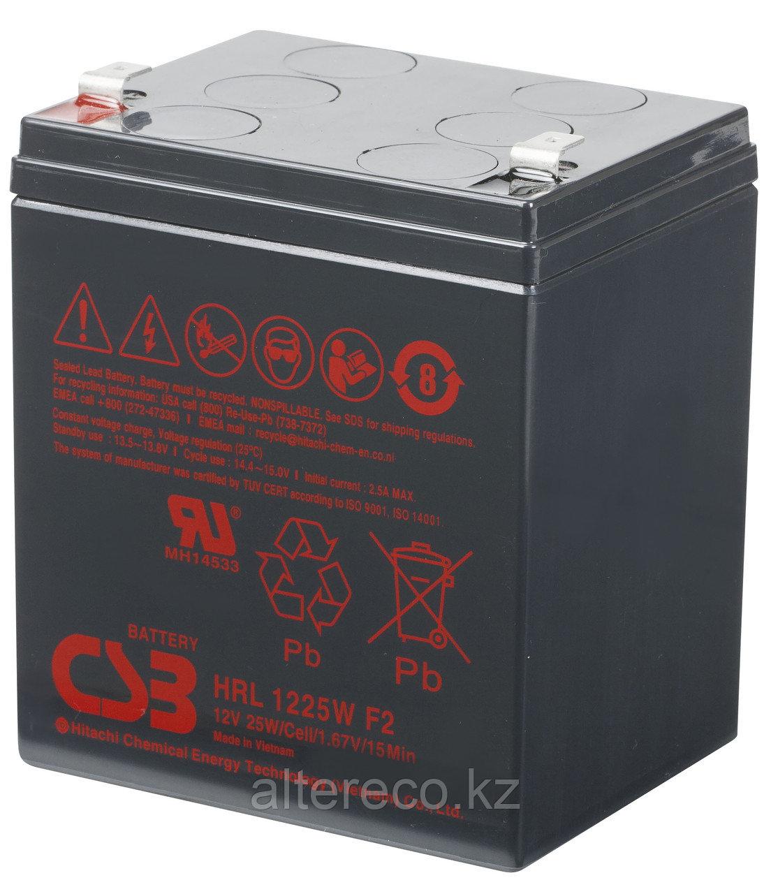 Аккумулятор CSB HRL1225W (12В, 5Ач)