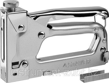 "Степлер ""Pro 53"" для скоб тип 53 (4-14 мм), в кейсе, STAYER Professional, фото 2"