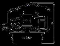 Гидравлический насос TORC HYFLOW 115V/230V/380V, фото 2