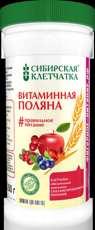 """Сибирская клетчатка """"Витаминная поляна"""", 280гр"""