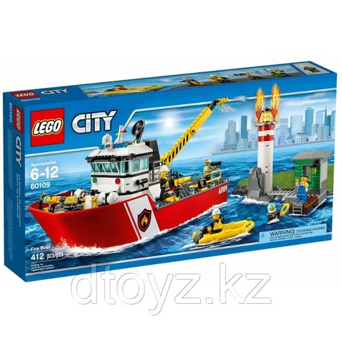 Lego City 60109 - Пожарный катер Лего Сити