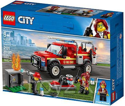 Lego City 60231 - Грузовик начальника пожарной охраны Лего Сити