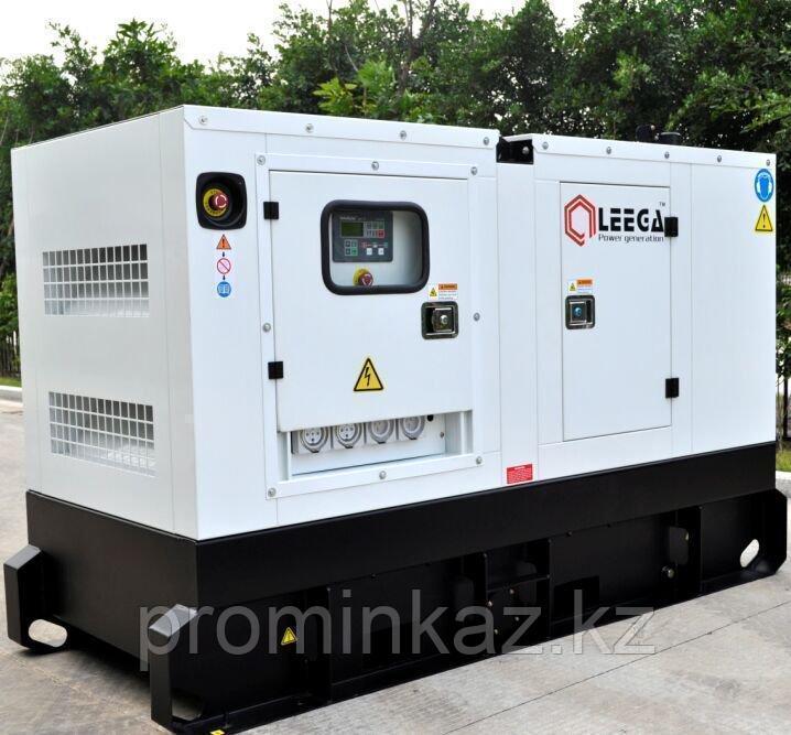 Генератор дизельный LG110,  LEEGA - 88 кВт в кожухе с АВР