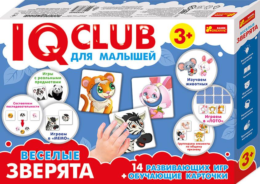 IQ  CLUB: Веселые зверята