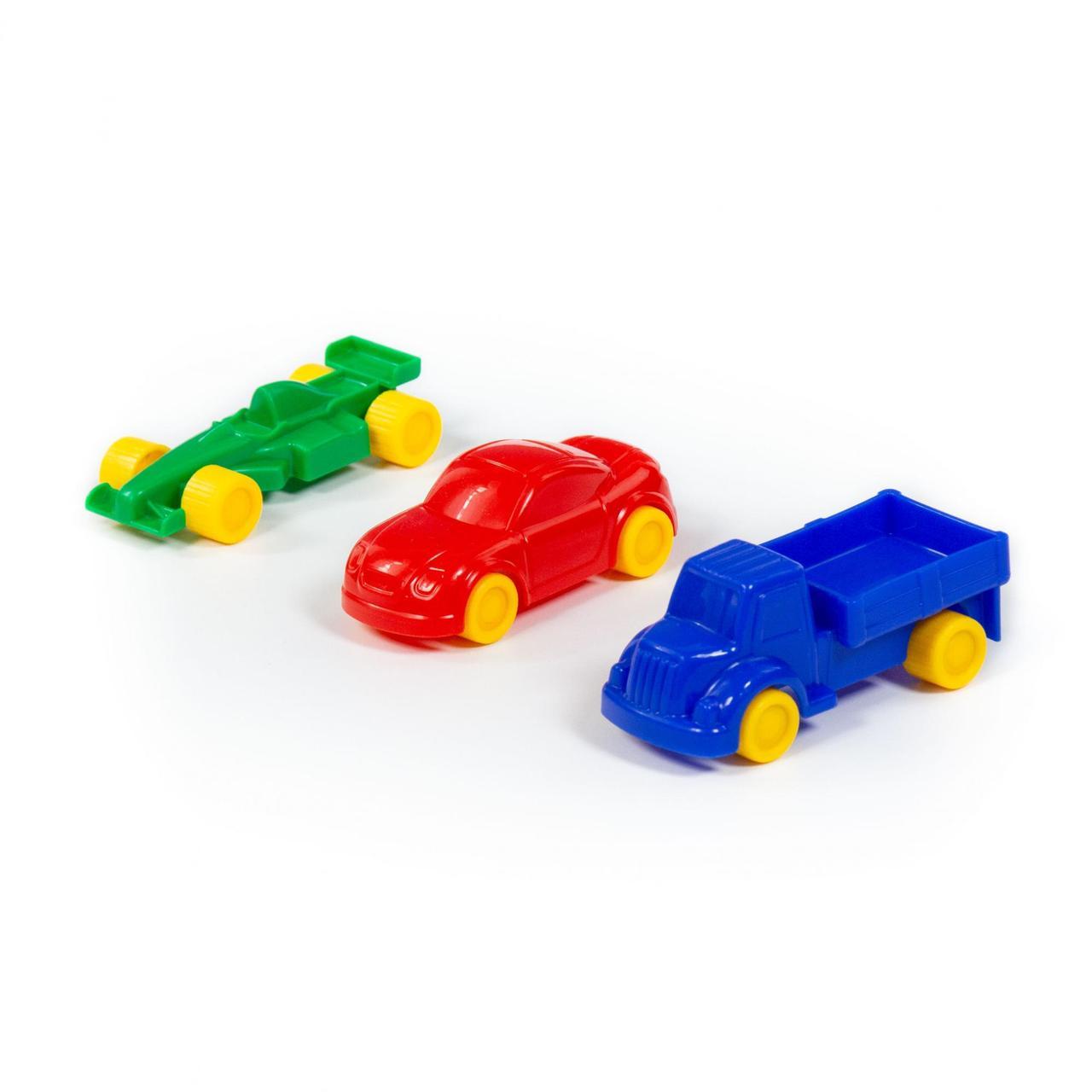 """Набор автомобилей """"Мини"""" (3 шт) (в пакете)"""